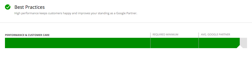 Google Partner Best Practices
