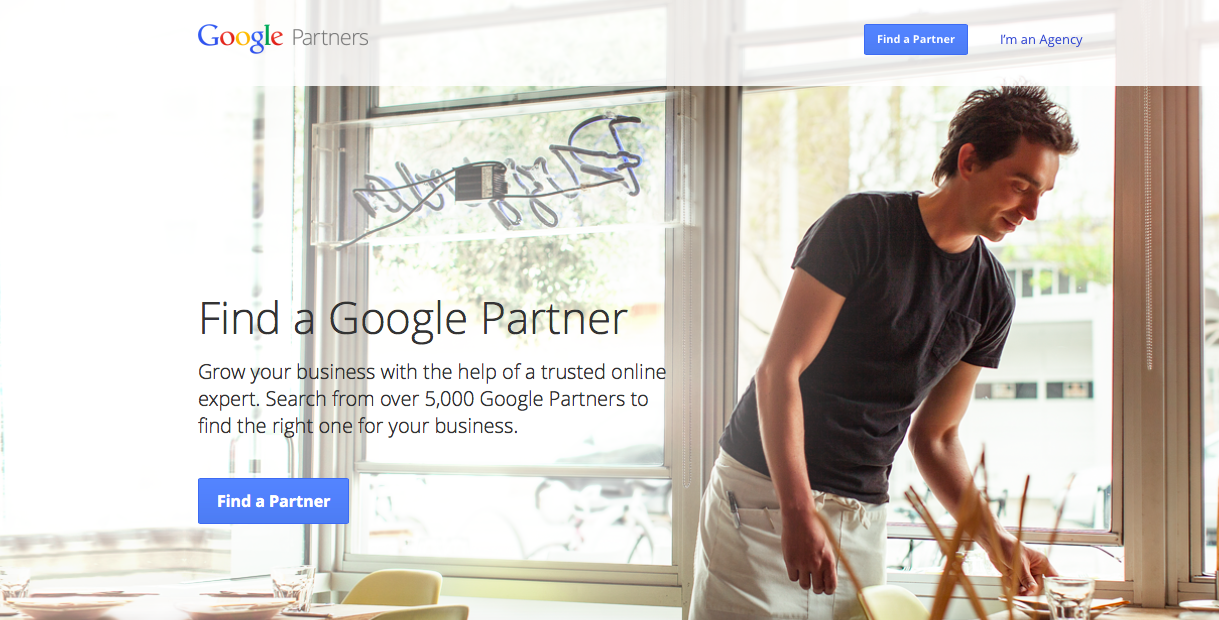 Google Partner Step 1