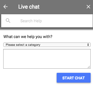 adwords live chat
