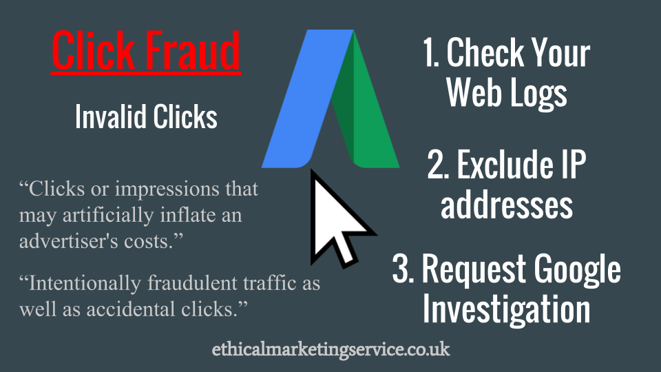 Adwords invalid clicks