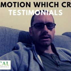 A promotion which creates testimonials